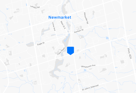 Location of NEWMARKET - HEAD OFFICE